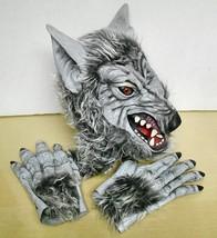 Seasons- Gray Wolf Vinyl & Hair Mask /w Hands/Paws - $24.74