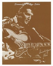 Elvis Presley Signed Sepia 8x10 Photo - $9.99