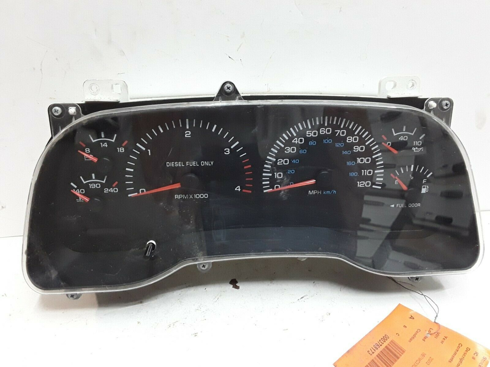 01 02 Dodge Ram 2500 3500 Diesel Manual Transmission Speedometer Oem P56045784ab