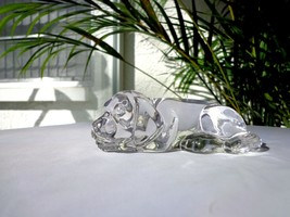 Princess House Crystal Figurine Paxton Puppy Crystal Paperweight - $24.74