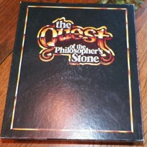 Vintage The Quest Of The Philosopher'S Stone First Edition Board Game  -K5 - $14.99
