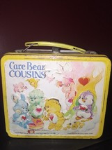Care Bear Cousins Metal Lunchbox NO Thermos Vintage 1985 Lot 413 B - $9.31
