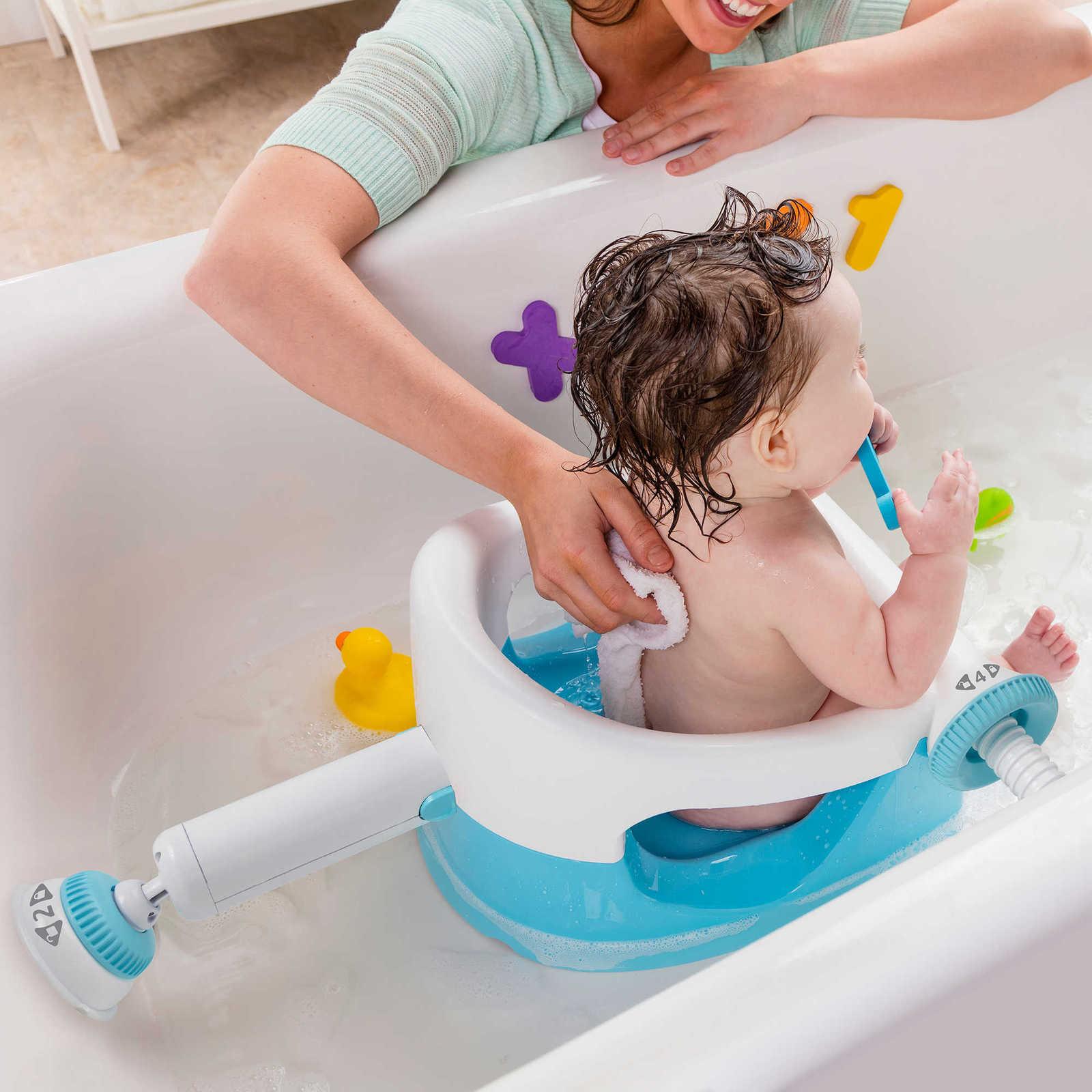 Baby Infant Safe Anti Slip Bath Tub Ring Seat Chair- Bath Tub Seats ...