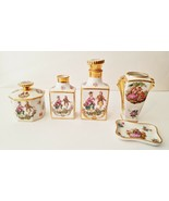 VTG Limoges Pastaud Porcelain Gold Trim - Couple in Outdoor Setting Coll... - $39.27