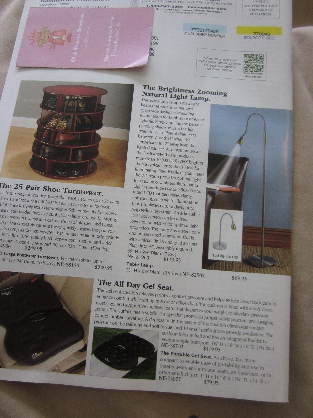 HAMMACHER SCHLEMMER EARLY SPRING SUPPLEMENT 2016 CATALOG THE BEST AND UNEXPECTED