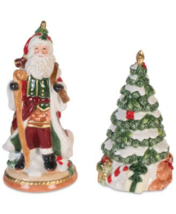Fitz and Floyd Holiday Tidings Salt & Pepper 2-Pc. Set NEW - $22.99