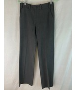 Ralph Lauren Pants Trousers 2 Sanderson Style Gray Poly Viscose Elastane... - $48.51