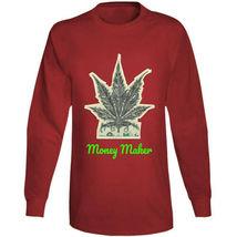 Money Maker 420 Canna Long Sleeve T Shirt image 9