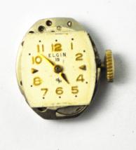 Elgin DeLuxe Grade 701 19 Jewels Not Running for Repair or Parts - $9.89