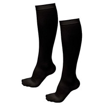 TASOM 1 Pair Black LG/XL Anti-fatigue Compression Pain Relieving Unisex ... - £5.36 GBP