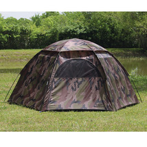 Texsport 01113 Camouflage 3 Person Hexagon Dome Tent - $57.99