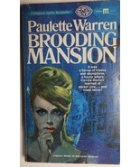 BROODING MANSION by Paulette Warren (1967) Magnum gothic pb - $9.89