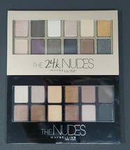 2X Maybelline The 24K Nudes & The Nudes Eyeshadow Palettes - $16.74