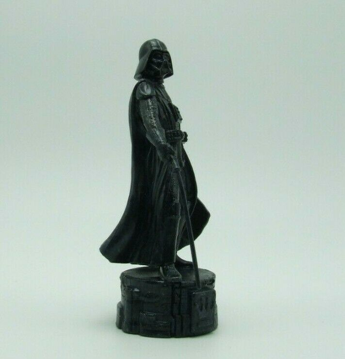 Star Wars Saga Edition Black Darth Vader Queen Chess Replacement Game Piece image 2