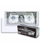 20 Confezioni (500) BCW Grande Bill Currency Topload Contenitori - $128.35