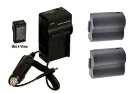 2 Batteries + Charger For Panasonic CGR-S006 CGR-S006A CGR-S006A/1B CGR-S006E - $31.44