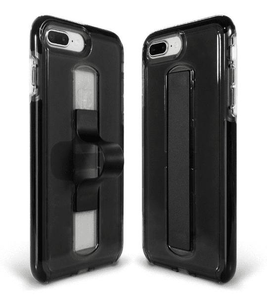 BodyGuardz Apple iPhone 8 Plus/7 Plus/6s Plus/6 Plus SlideVue Case - Smoke