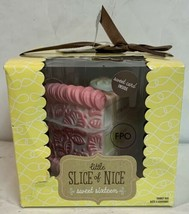 Hallmark Little Slice of Nice Sweet Sixteen Pink Trinket Porcelain Birth... - $19.99