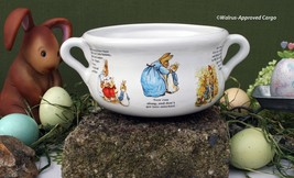 BEATRIX POTTER PETER RABBIT SOUP BOWL – DON'T LET THIS ONE HOP AWAY FROM... - $19.95