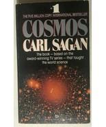 COSMOS by Carl Sagan (1985) Ballantine illustrated paperback 1st - $13.85