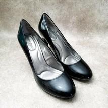 "Bandolino Womens Antana  Sz 7 M Black Slip On 3"" Heels Pumps - $26.99"