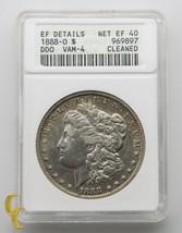 1888-O Morgan Silver Dollar HOT LIPS Double Die Obverse ANACS Net EF 40 ... - $265.28