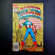 Captain America # 383 March 1991 50th Anniversary Triple Size Marvel Com... - $9.89