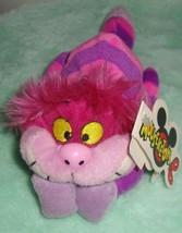 New DisneyLand Mouse Toys Cheshire Cat Alice in Wonderland Bean Bag Plush - $14.80