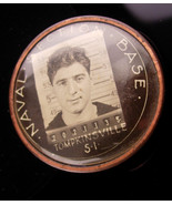 WW11 Navy photo badge - Vintage Naval Section base - Moorehead - Tompkin... - $155.00