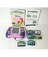 LeapFrog Leapster L-MAX Learning Game System Purple/Pink 20294 w/ 6 Games - $44.54