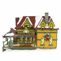 "Dept. 56 Snow Village ""Coffee Station""  #4059387  NIB - $93.50"