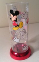 """Mickey Mouse Plastic Cup 6"""" Tumbler  2.5"""" Diam Opening - $8.20"""