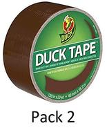 Duck Brand 1304965 Color Duct Tape, Brown, 1.88 Inches x 20 Yards, Singl... - $47.37