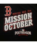 Boston Red Sox Men Tshirt Mission October 2016 Size L - $11.88