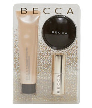 BECCA Best Sellers Glow To Glow Kit Skin Perfector Primer Lip NIB - $22.95