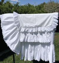 Vtg Ralph Lauren Patience Queen Bedding Set Bed Skirt Flat Sheet Euro Sh... - $144.94