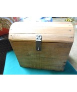 """Great Handcrafted PINE """"Wood"""" BOX....""""HUMPBACK"""" - $19.47"""