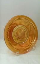 Vintage Jeannette Marigold Carnival Glass Anniversary Soup Cereal Bowl - $10.99