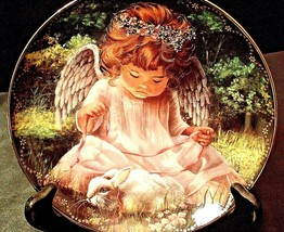 """1996 """"An Angel's Kindness,""""  by Donna Brooks with Box AA20- CP2167 Vintage - $79.95"""