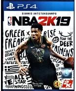 PLAYSTATION 4 - NBA2K19 - $10.00