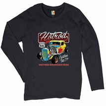 Vintage American Iron Women's Long Sleeve T-shirt Hot Rod Route 66 Retro... - $13.39+