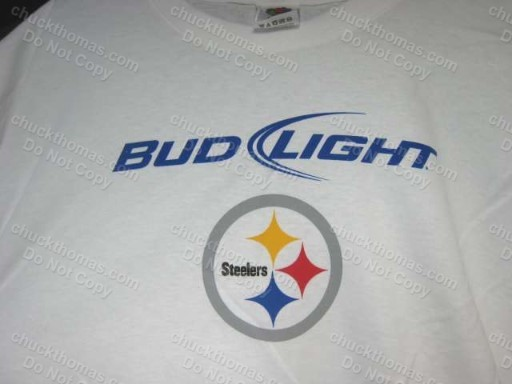 df0648a87 Pittsburgh STEELERS Football and Bud Light and 50 similar items