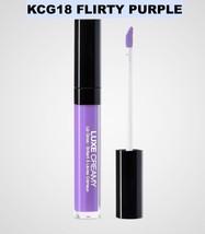 KISS NEW YORK PROFESSIONAL LUXE CREAMY LIP GLOSS KCG18 FLIRTY PURPLE - $2.96