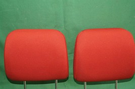10-13 Kia Soul Front Cloth 2 Headrests Headrest Set RED image 2