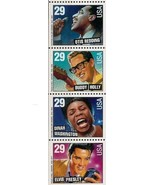 1993 29c American Music Series, Booklet Pane of 4 Scott 2731-2737b Mint ... - $2.48