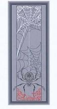 Spider Banner cross stitch chart Alessandra Adelaide Needlework - $16.20