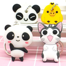 Keychain cartoon  panda  anime cat bear - $5.99+