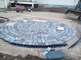 "15 Keystone Paver Molds Make 1000s Of Concrete Cobblestone Pavers 6x5x3x1.5"" image 7"