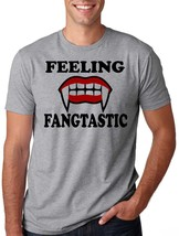 Halloween T-Shirt Feeling Fangastic Tee Shirt Halloween Costume Party T-... - $22.99+