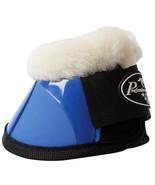 Med Professional Choice Flexible Horse Spartan Fleece Bell  Boots Royal ... - $43.55